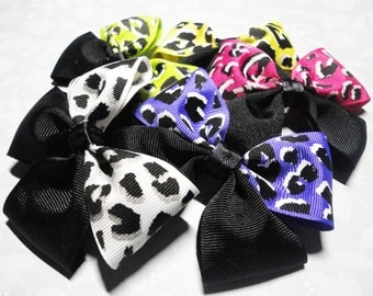 Lot of Super Cute Leopard Bows!