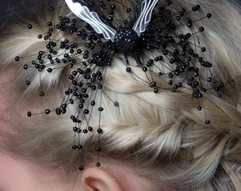 Deccoangel hair accessory, Art Deco and angel ispired.