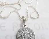 Necklace - Saintes Maries & Sainte Sarah - Sterling Silver - 23mm