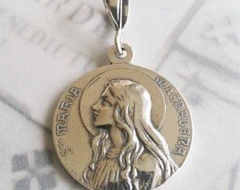 Medal - Sta Maria Magdalena 29mm Sterling Silver