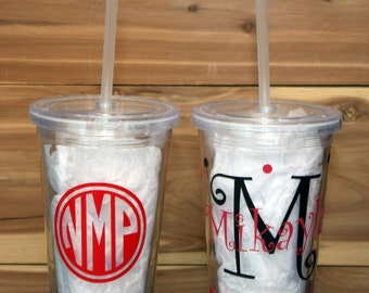Personalized Plastic Tumbler Cup