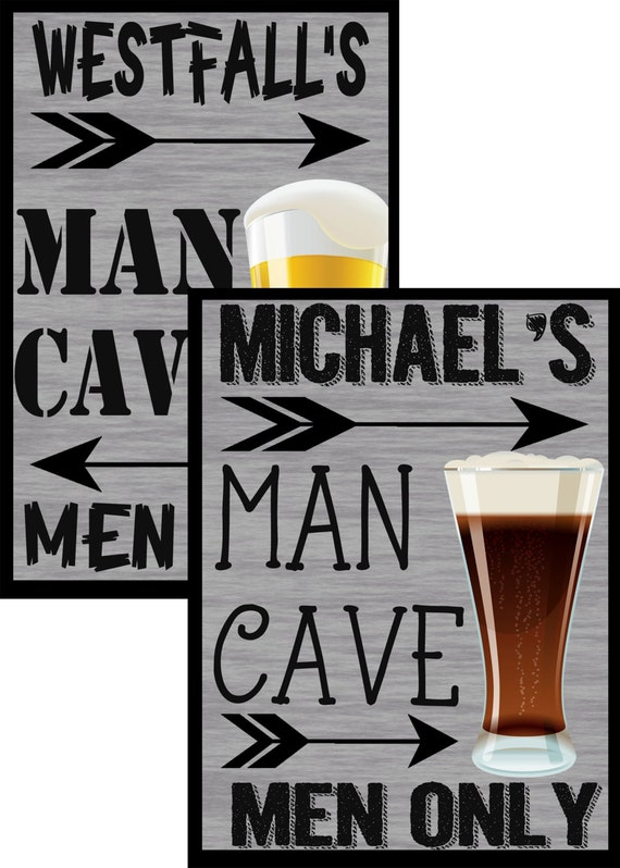 Great Man Cave Gifts : Man cave signs customize a sign for great gift