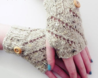 Fingerless Gloves, Hand knitted, Handwarmers, Texting Gloves, Ladies Handwarmers, Gloves