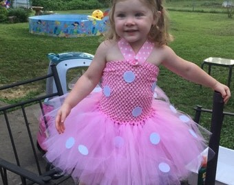 Minnie Mouse Costume - Minnie Mouse Tutu - Minnie Mouse Dress - Minnie Mouse Halloween Costume - Minnie Mouse Toddler - Minnie Mouse Baby