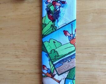 Golf tie/father's day tie
