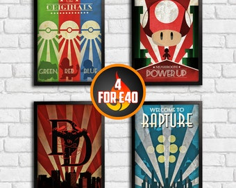 4 for 40! - Art Deco Range