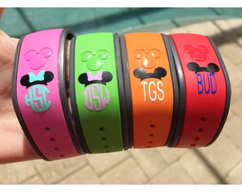 Magic Band Monogram/Personalization Decal Only