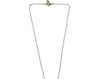 Brass Balance Bar Everyday Layering Necklace