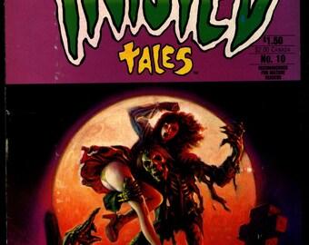 TWISTED TALES #10 Bruce Jones Attilio Micheluzzi Berni Wrightson Gray Morrow Bill Wray Rick Geary Horror Fantasy Underground Anthology