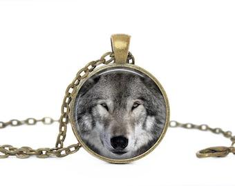 Wolf Locket Etsy