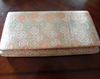 Vintage oriental inspired clutch