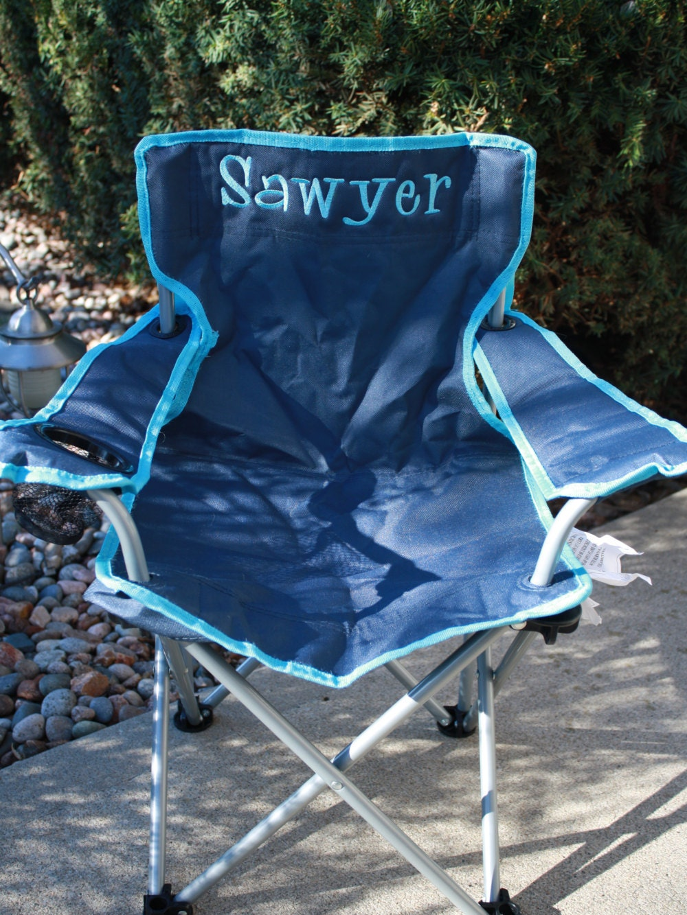 Personalized Boys Toddler Folding Camping Chair