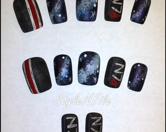 Mass Effect Nails