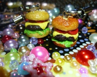 Cheesebuger Necklace