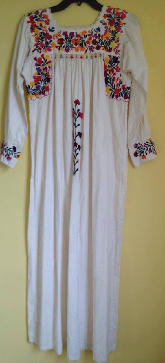Mexican embroidered blouse san antonio long sleeved