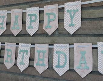 Happy Birthday Banner, Happy 1st Birthday Banner, Happy 2nd Birthday