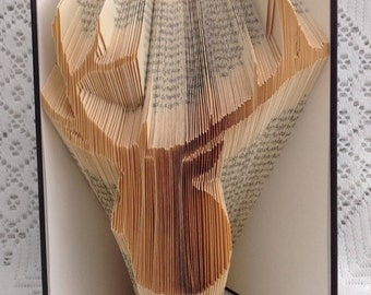 Book Folding Pattern Stag Head
