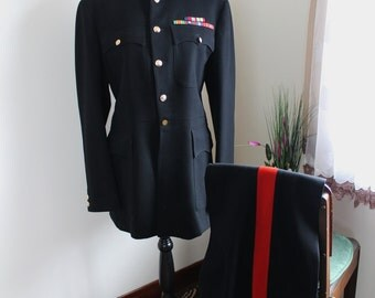 1950s Canadian Guard Uniform, Army Jacket, Army Pant, Military Uniform