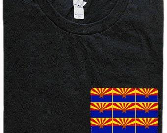 Arizona Flag Pocket Shirt