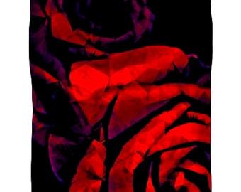 Red Rose Duvet Etsy