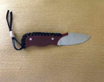 Leather Weaved Knife
