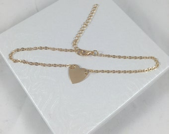 Heart Shaped Love Anklet
