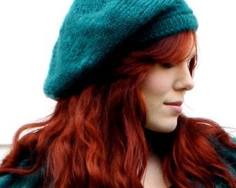 Irish Beret Knitting Pattern : Irish beret Etsy
