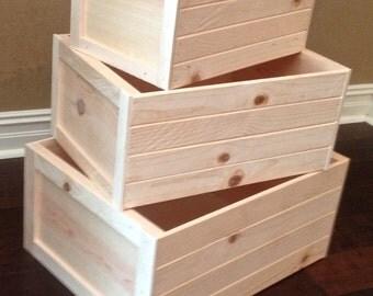 Nesting Crates Etsy