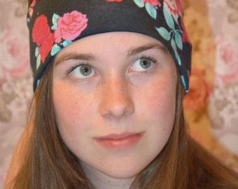 Roses Thick Yoga Headband