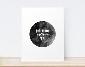 My Favorite Spot | Art Print