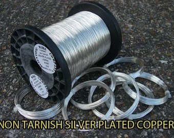1 kilo SILVER PLATED COPPER Wire