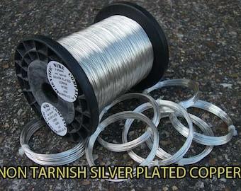 1 kilo SILVER PLATED COPPER Wire