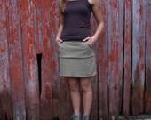 Organic Cotton & Hemp Pocket Skirt