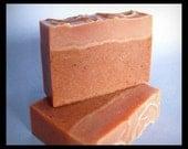 On Sale! Mandarin Myrrh OliveOil Soap with Cocoa & Shea Butters, Brazilian Clay, Myrrh Powder, Husband Gift, Boyfriend Gift, Girlfriend Gift