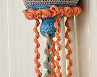 Lennie the Jellyfish - Crochet Pattern Instructions