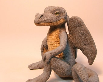 Dragon Baby Clay Art Sculpture