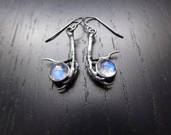 Seer Earrings - Moonstone