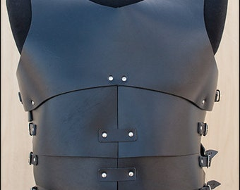 Daikas leather body armor, for Larp and fantasy enthusiasts.