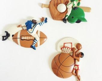 Burwood, Sports Plaques, Kids Room, Home Decor, Baseball, Football, Basketball