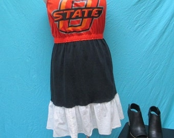 Game Day Dress ~ Oklahoma State Cowboys ~ Tailgate in Style
