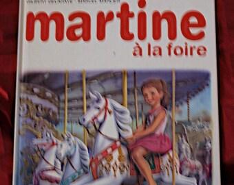 Martine a la Foire Illus French Casterman 1984 Children Book Collection Farandole Merry Go Round Carnival Circus Bumper Cars