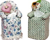 The Original Sneezes Chair Sewing Pattern Tissue Box Cover