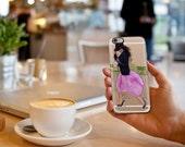 Paris Fashion Week Transparent iPhone / Samsung Galaxy S6 Case