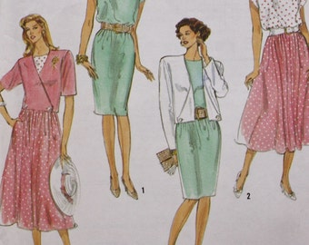 Dress and Jacket Simplicity 7164 Sewing Pattern