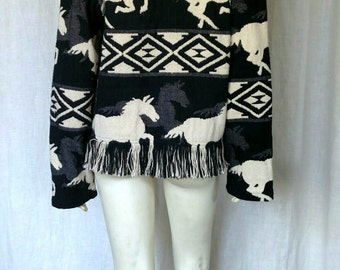 Vintage 80s Wild Horses Jacket