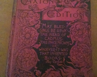 Vintage Caxton Edition Book, Old Books, Short Stories, Vintage Book, Caxton Edition, Antique Books