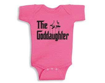 The Goddaughter Funny Baby Onesie/Tee - Pink|White| Goddaughter Bodysuit