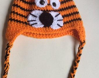 Crochet Tiger Hat