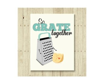 Funny Magnet, Funny Wedding Gift, Gift for Cook, Gift for Chef, Anniversary Gift, Cheese Grater, Cute Fridge Magnet, Gifts Under 10