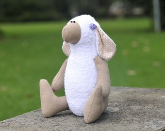 Dolly the Sheep PDF soft toy sewing pattern plushie softie